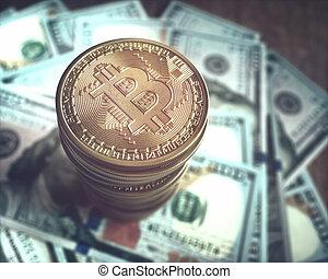 Bitcoin Cryptocurrency Dollar Market