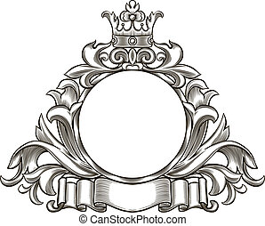 black and white emblem 1