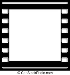 Blank Film Frame Picture Slide