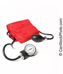 Blood pressure cuff and gauge
