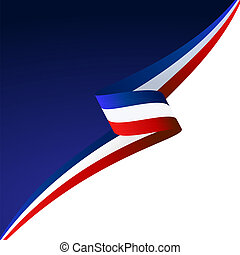 Abstract color vector background England flag