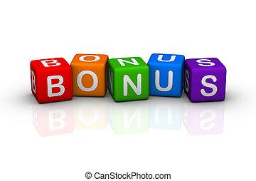bonus (buzzword colorful cubes series)