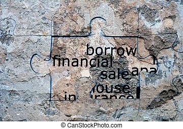 Borrow financial sale