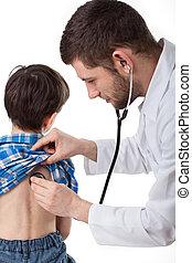 Boy examination