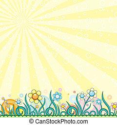 Cartoon Spring