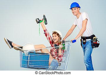 building shopping