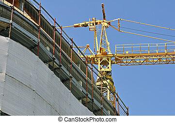Building under construction - horizontal