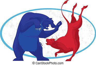 Bull and Bear - Stock Market