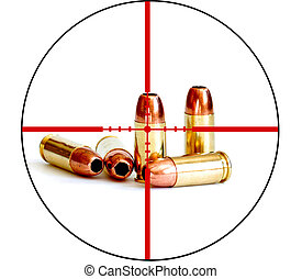 Bullet Military Tactical Crosshairs Right to Bear Arms