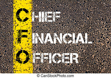 Business Acronym CFO Chief financial officer
