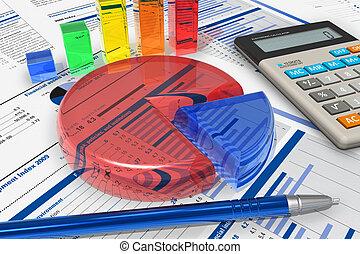 Business analytics concept