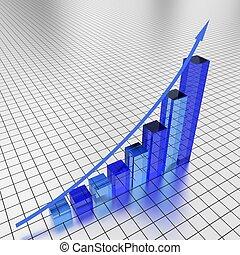 Business financial graph