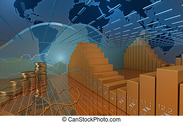 Business market background