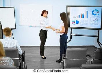 business partners shake hands
