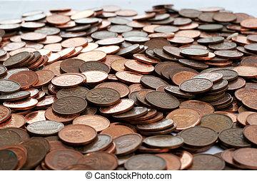 canadian pennies