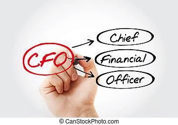 CFO - Chief Financial Officer acronym