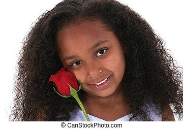 Child Girl Flower