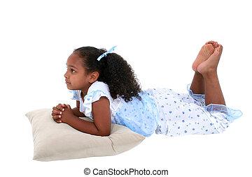 Child Girl Isolated