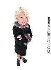 Child Girl Standing