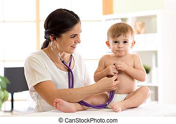 child medical examination