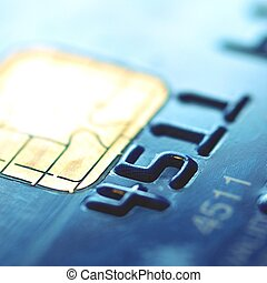 Chip of credit card