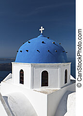 church at Santorini island