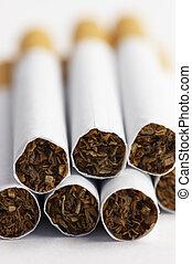 cigarettes in macro