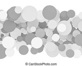 circles isolated on white background
