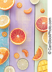 Citrus Salad with Mango
