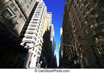 classical NY- Broadway street, Manhattan
