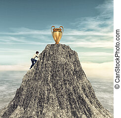 Climbing to the cup