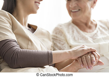 Caregiving in the nursing home