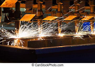 CNC LPG cutting sheet metal