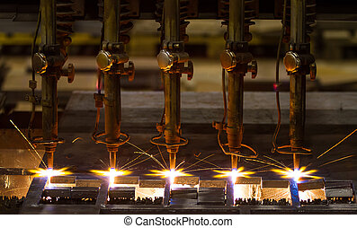 CNC LPG cutting