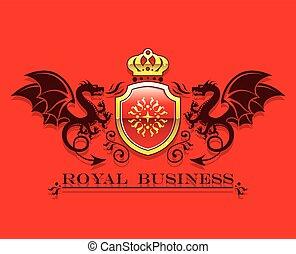 Coat of arms Golden Crown