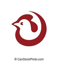 Branding identity corporate logo isolated on white background