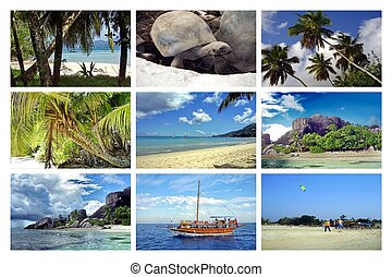 Collage of Seychelles