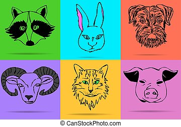 Collection of animals.