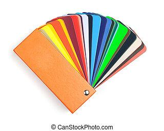 Color scale book