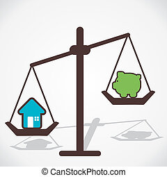 compare home price vector