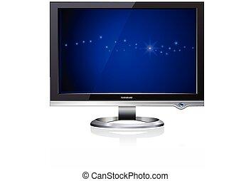 Computer Flat LCD Monitor Display