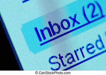computer screen inbox macro