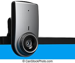 Computer web camera video chat