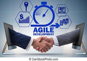 Concept of agile software development