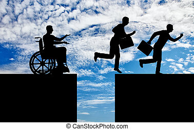 Concept of inequality and discrimination of people with disabilities