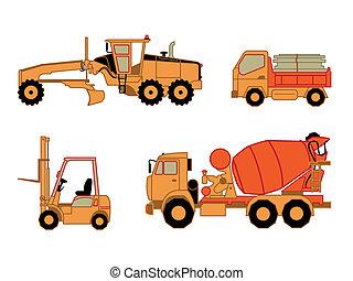 Construction cars | Set 2