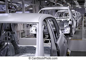 conveyer in factory