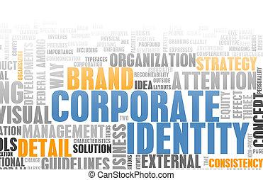 Corporate Identity in the Marketing World Art