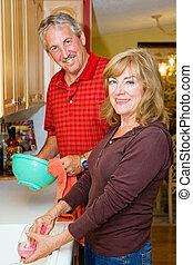 Couple Shares Chores