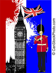 Cover for brochure with England image and Britain flag